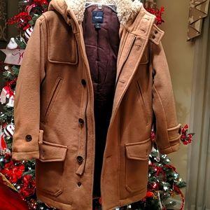Camel/tan Wool-blend coat from Gap Kids